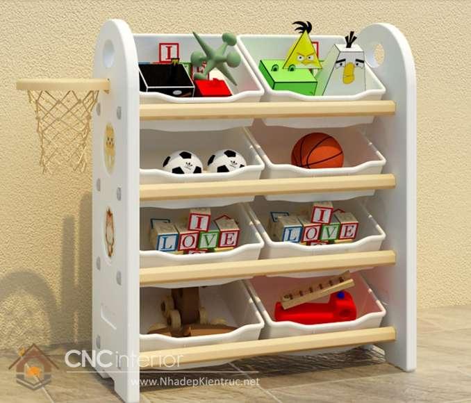 Kệ tủ đựng đồ chơi trẻ em 8