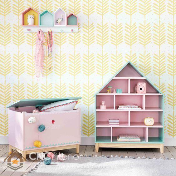 Kệ tủ đựng đồ chơi trẻ em 6