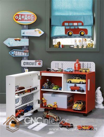 Kệ tủ đựng đồ chơi trẻ em 7