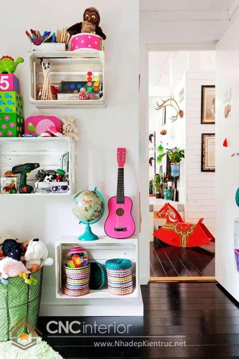 Kệ tủ đựng đồ chơi trẻ em 11