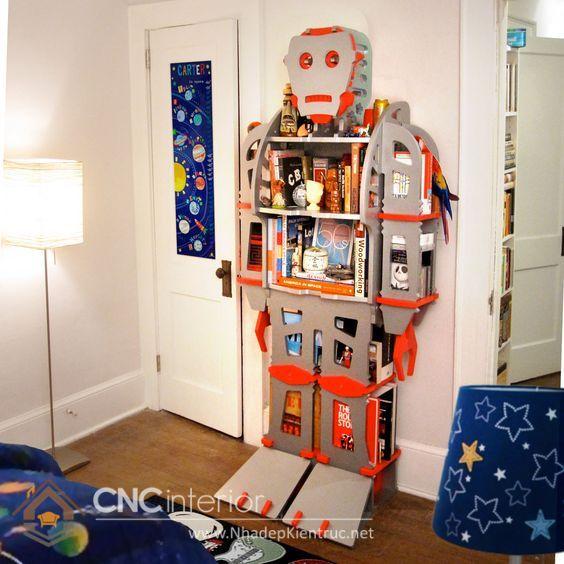Kệ tủ đựng đồ chơi trẻ em 9
