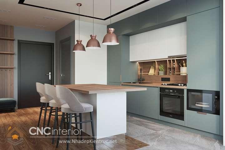 nhà bếp đẹp hiện đại 8