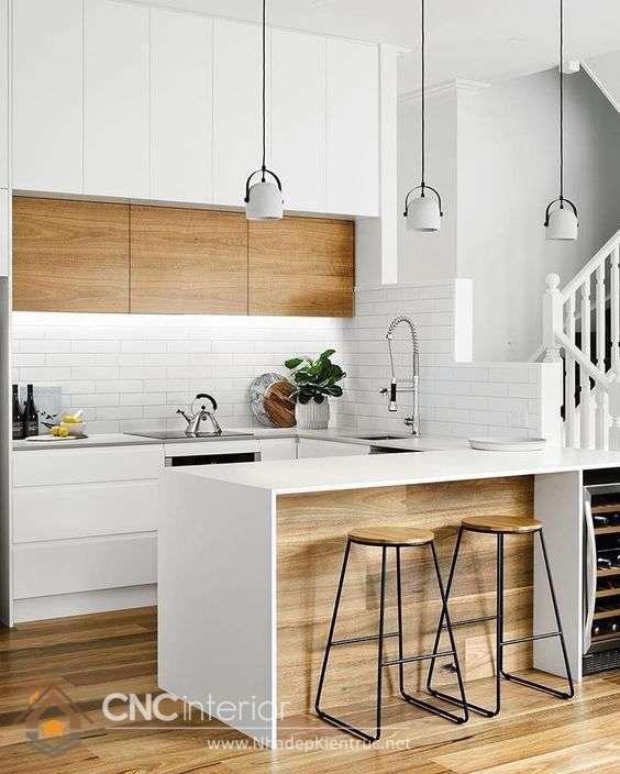 nhà bếp đẹp hiện đại 11