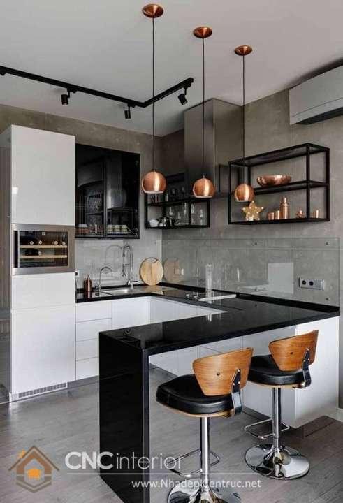 nhà bếp đẹp hiện đại 4