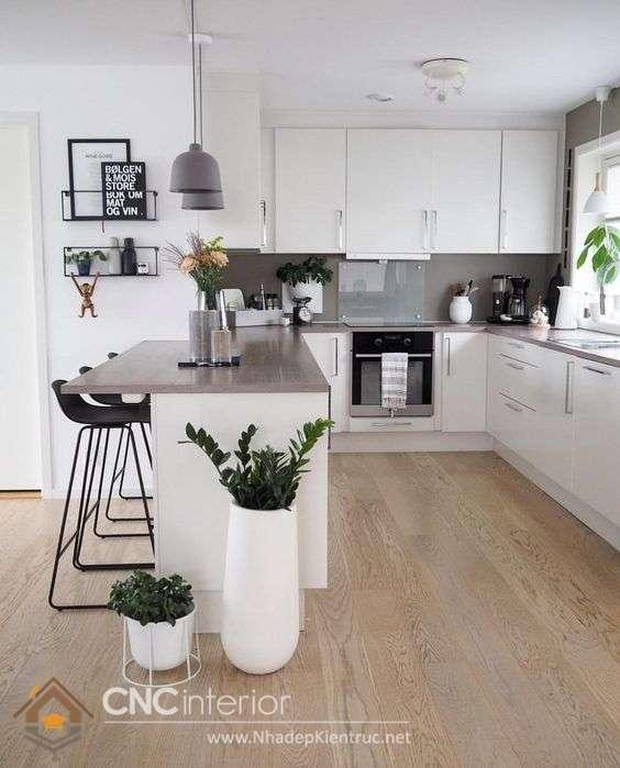 không gian bếp nhỏ xinh 1