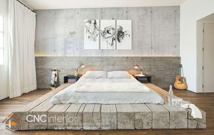 Phòng ngủ tối giản kiểu Nhật 1