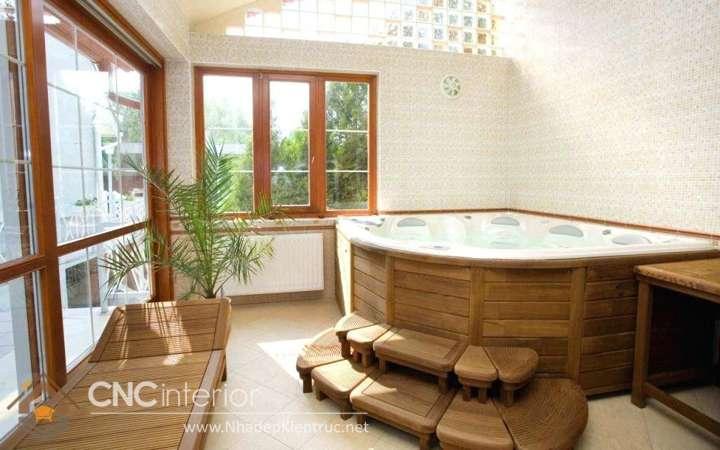 Phòng tắm tối giản kiểu Nhật