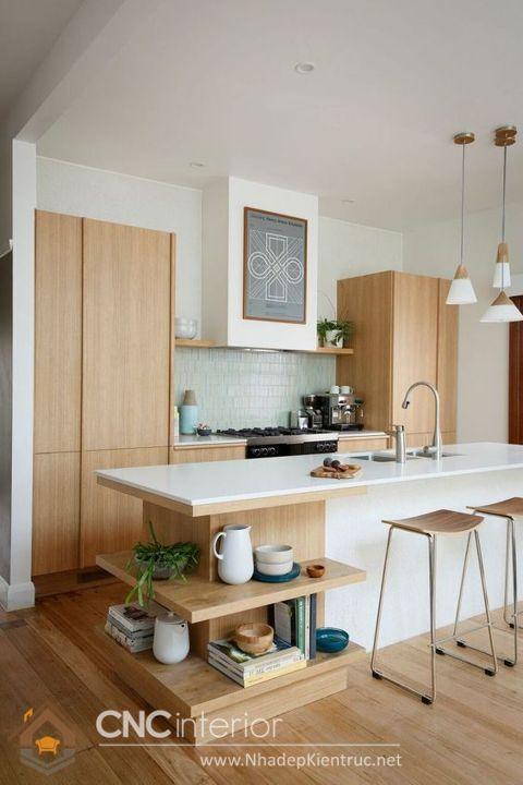 Phòng bếp tối giản kiểu Nhật