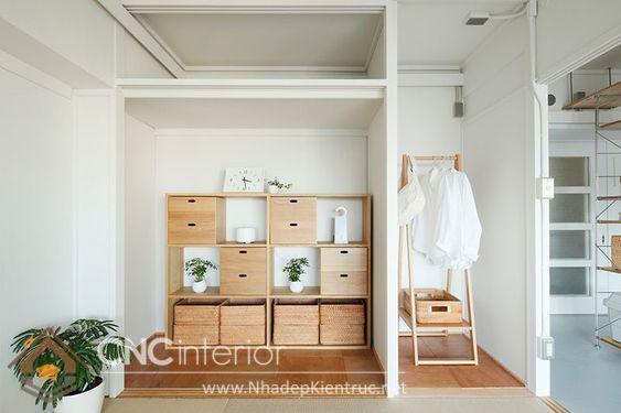 Nội thất nhà Nhật Bản phong cách tối giản 2