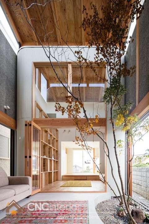 Nội thất nhà Nhật Bản phong cách tối giản 1