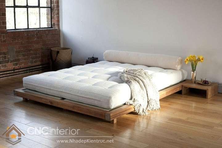 Phòng ngủ tối giản kiểu Nhật 2