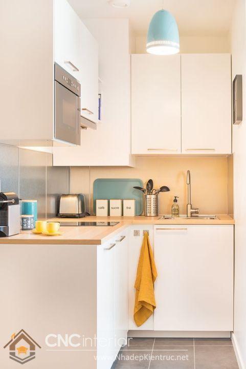 tủ bếp mini 3