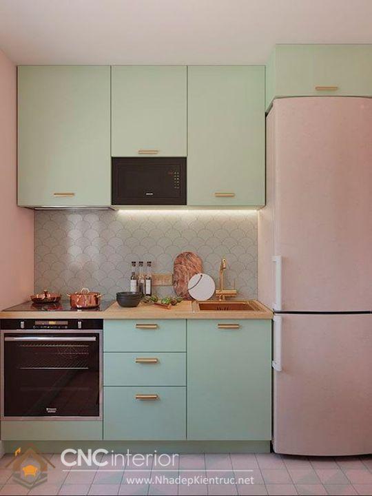 tủ bếp mini 6