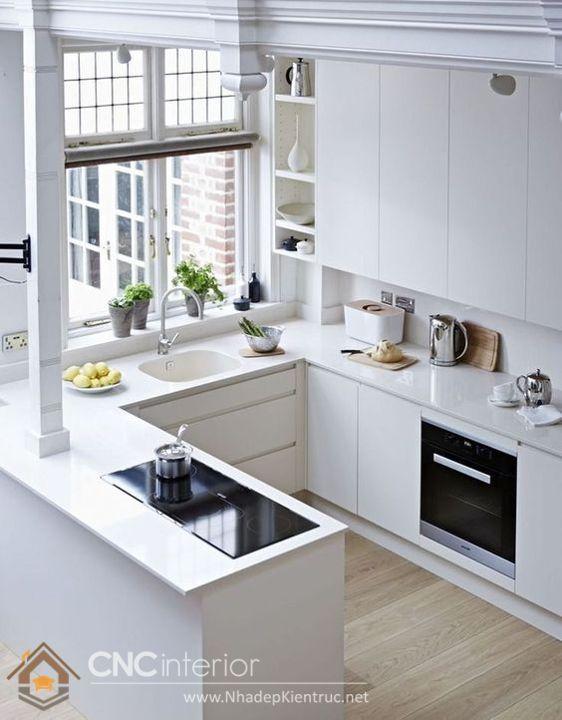tủ bếp mini 12