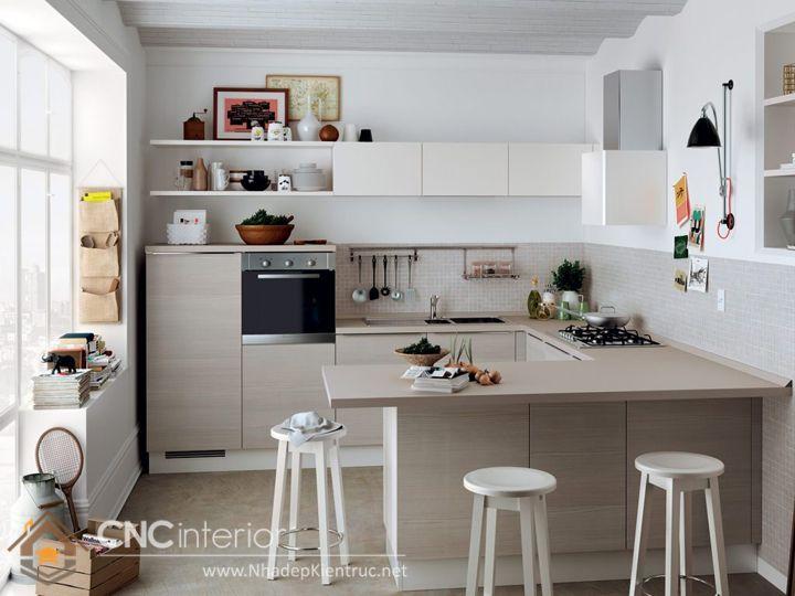 tủ bếp mini 11