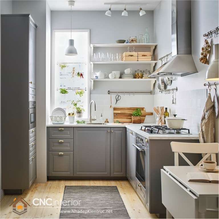 Tủ bếp kiểu tân cổ điển (12)