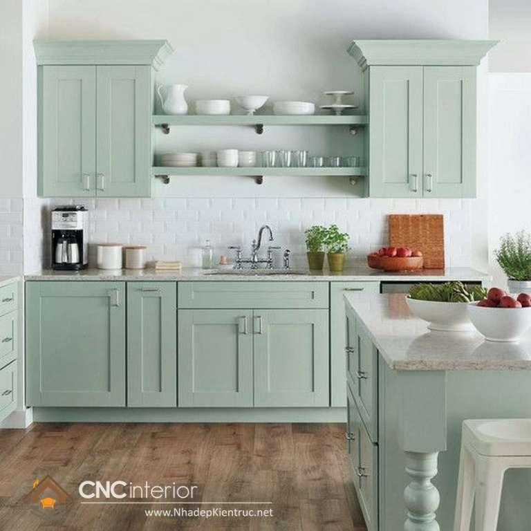 mẫu tủ bếp tân cổ điển (13)
