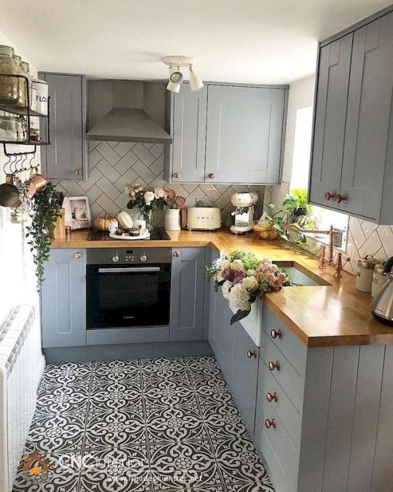 tủ bếp tân cổ điển (14)
