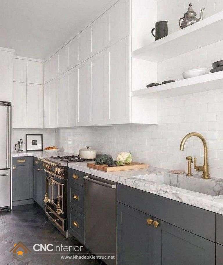 mẫu tủ bếp tân cổ điển (5)