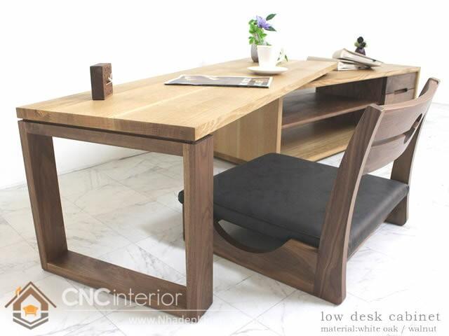 bàn làm việc ngồi bệt 4