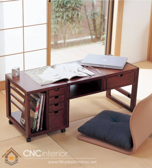 bàn làm việc ngồi bệt 12