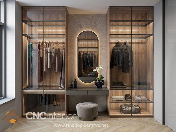 thiết kế mẫu tủ quần áo thông minh 5