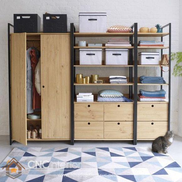 thiết kế mẫu tủ quần áo thông minh 12