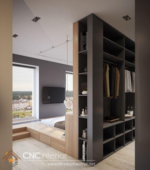 thiết kế mẫu tủ quần áo thông minh 8