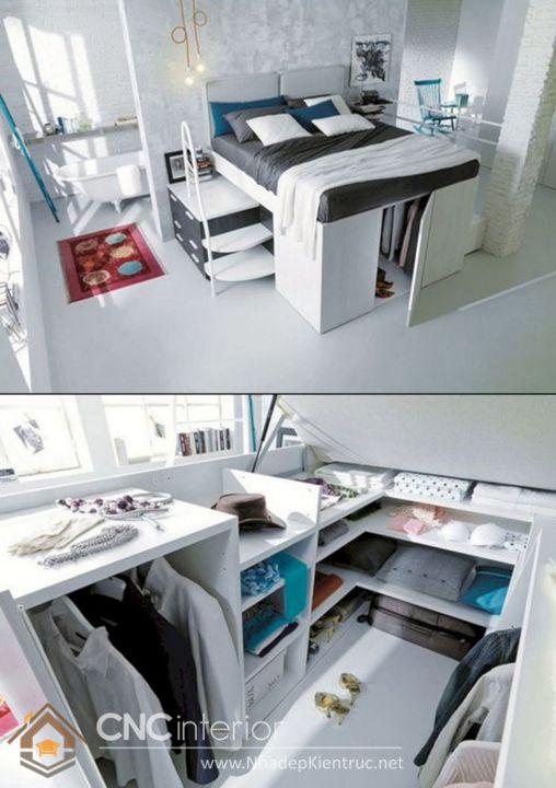 thiết kế mẫu tủ quần áo thông minh 7