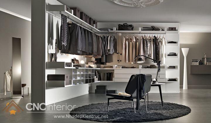 thiết kế mẫu tủ quần áo thông minh 1