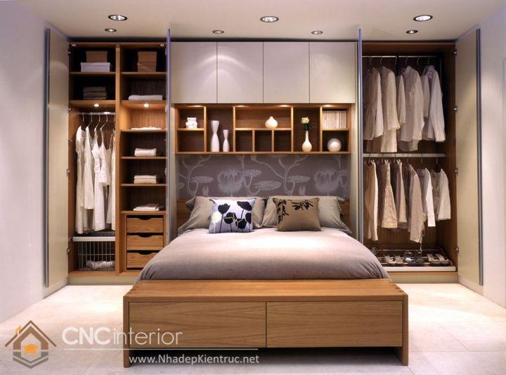 thiết kế mẫu tủ quần áo thông minh 6