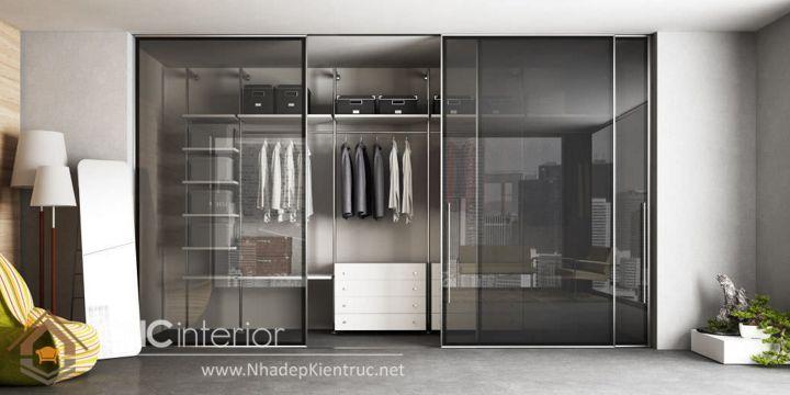 thiết kế mẫu tủ quần áo thông minh 10