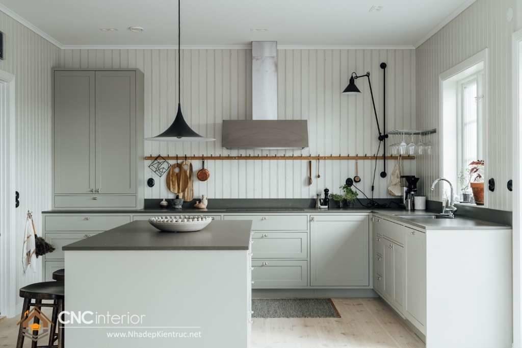Phòng bếp đẹp cho nhà ống (12)