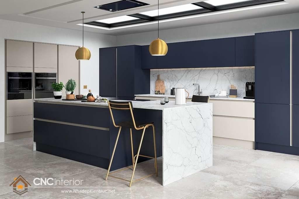 Phòng bếp đẹp cho nhà ống (14)