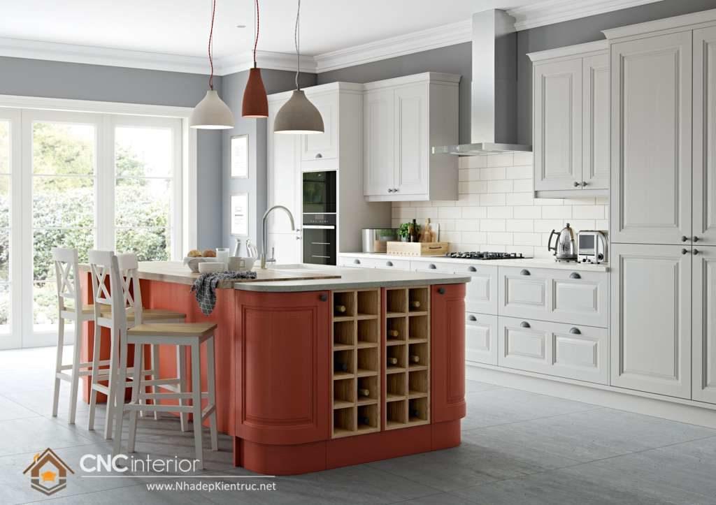Phòng bếp đẹp cho nhà ống (17)