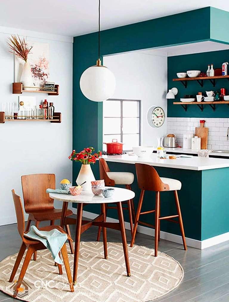 Phòng bếp đẹp cho nhà ống (24)