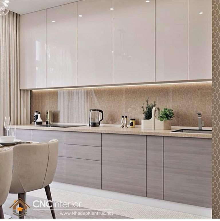 Phong cách tối giản cho từng đường nét được áp dụng mang đến thiết kế tủ bếp (26)