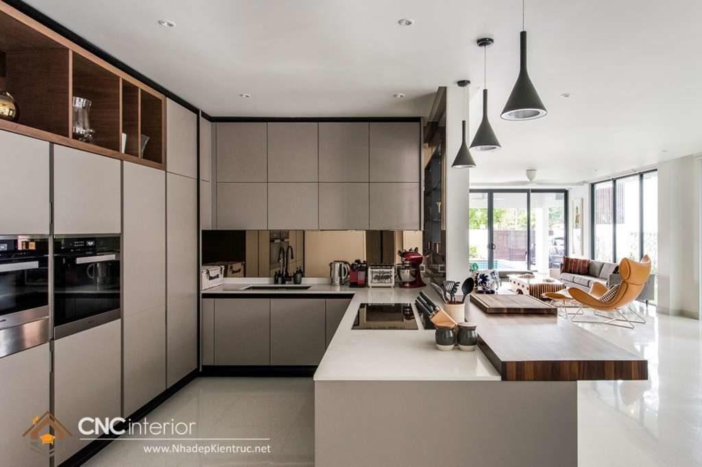 Phòng bếp đẹp cho nhà ống (27)