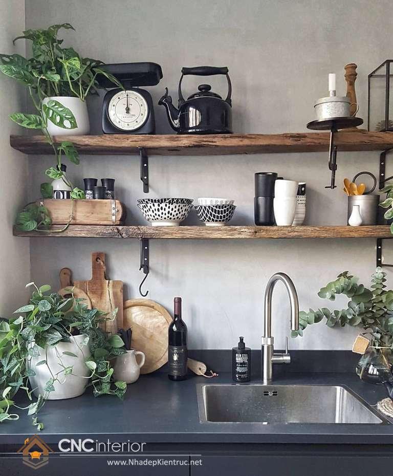 Phòng bếp đẹp cho nhà ống (29)
