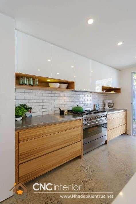 Phòng bếp nhà ống (33)