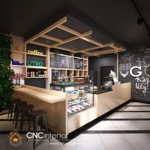 Kiểu dáng thân thiện và gần gũi với quầy bar café (28)