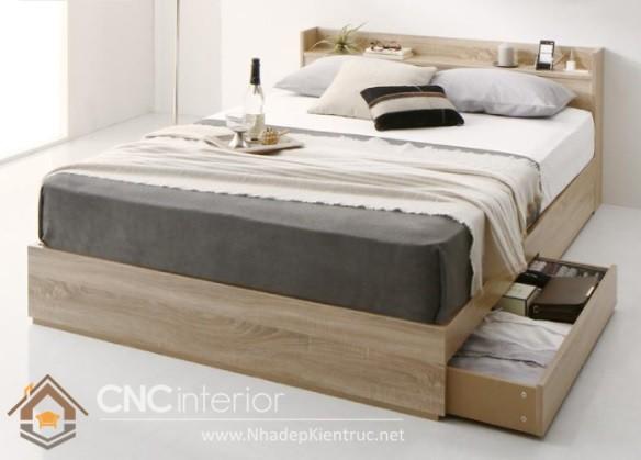 báo giá giường ngủ kiểu Nhật cao cấp HCM 5