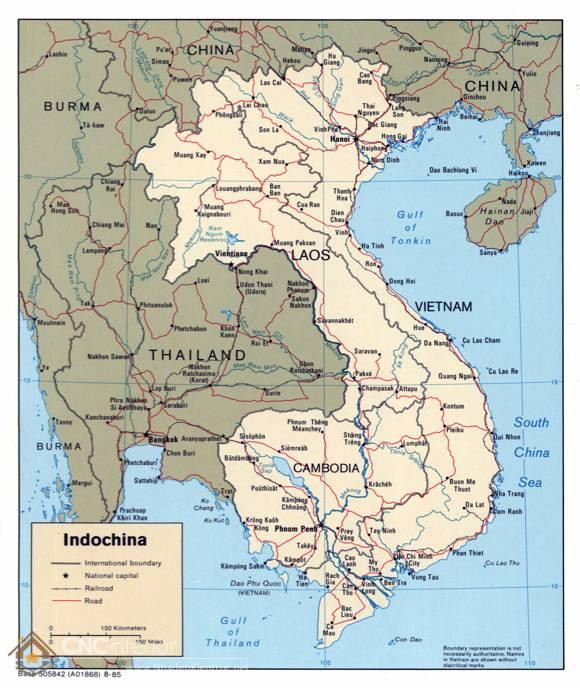 phong cách Indochine - nội thất Đông Dương 14