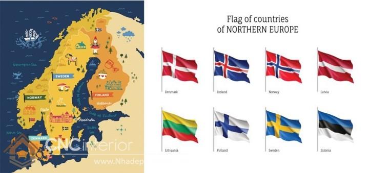 phong cách nội thất Bắc Âu Scandinavian 2
