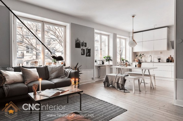 phong cách nội thất Bắc Âu Scandinavian 17