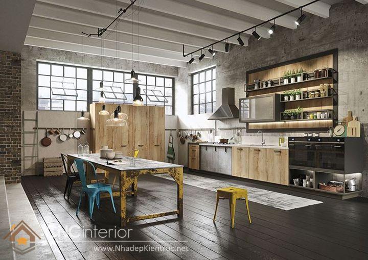 sàn nhà sử dụng vật liệu gỗ.
