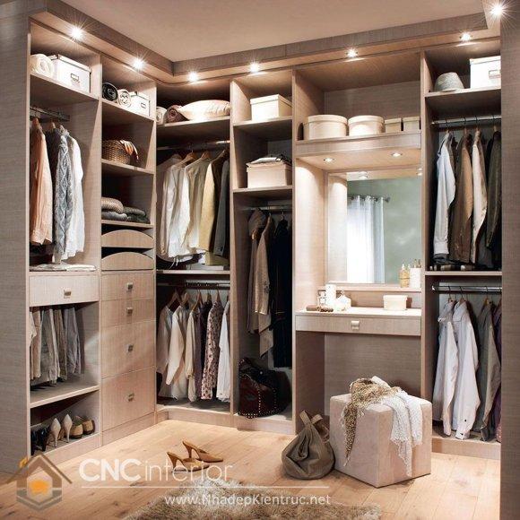 tủ quần áo chữ L 9