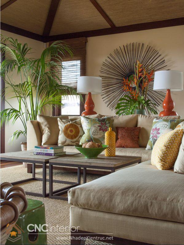 phong cách nội thất nhiệt đới Tropical 3