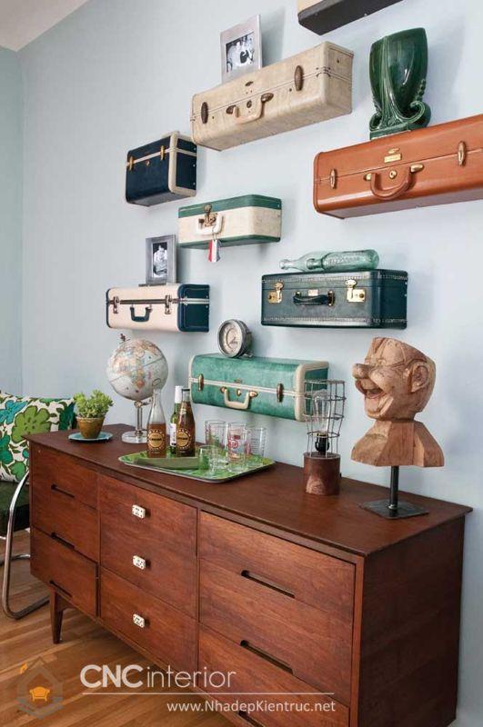 Cách bày trí không gian đúng chuẩn Vintage 28