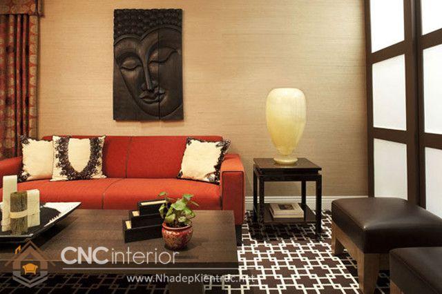 thiết kế nội thất phong cách Á Đông 8
